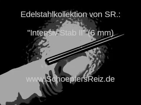 www.SchoepfersReiz.de - Intensiv Stab II 14/o,6 cm - Urethral Sounding