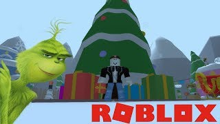 LET'S SAVE CHRISTMAS!! | Roblox The Grinch Obby