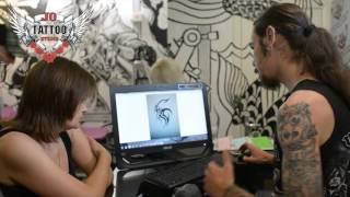 Jo Tattoo Video (Ve An) Лучшая тату студия город Херсон.