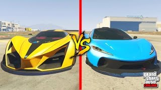 GTA 5 Online | DAS BESTE AUTO IN GTA ONLINE ? | GROTTI X80 PROTO vs. PROGEN T20 | IDzock