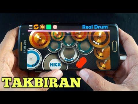 Gema Takbir Idul Fitri | Real Drum Cover