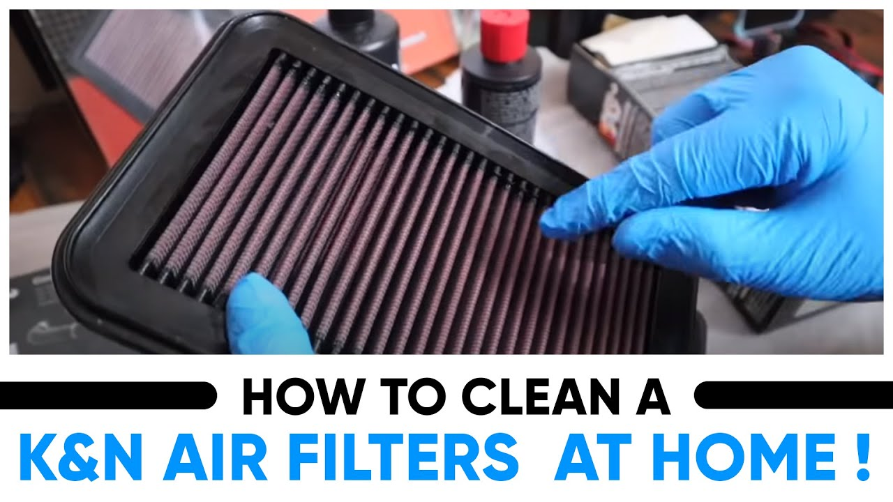 Performance Air Filters Actually Work ? How to Clean a K&N Air FilterS At HOME !  😱 #DIY #KNFILTERS