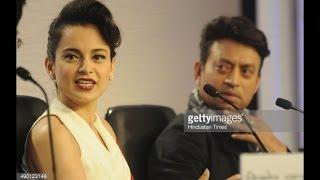 Irfan Khan and Kangna Ranaut answering every qu...