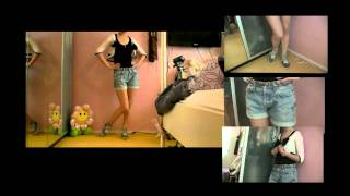 Julias Fashion Minute: DIY Denim shorts Thumbnail