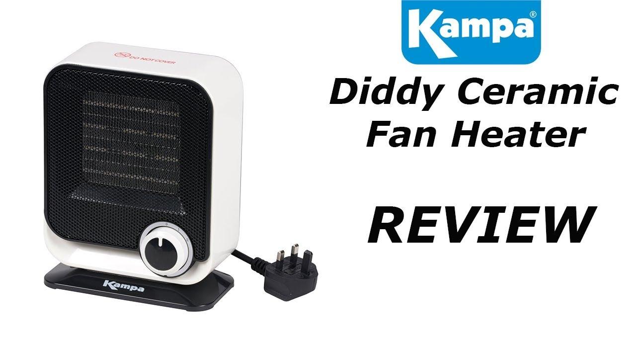 240v Fan Heater from Camperite Leisure