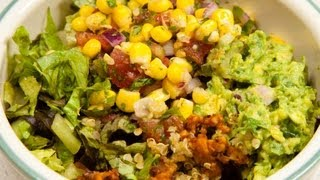 Vegan Quinoa Burrito Bowl (low Salt!)