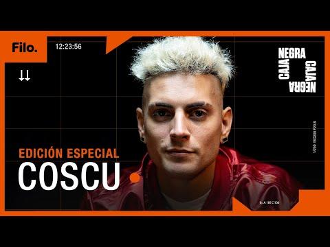 """Coscu: """"Messi me puso en un lugar que no podía ni soñar""""   Caja Negra Especial"""