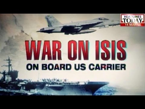 War Against ISIS: On Board The USS Carl Vinson