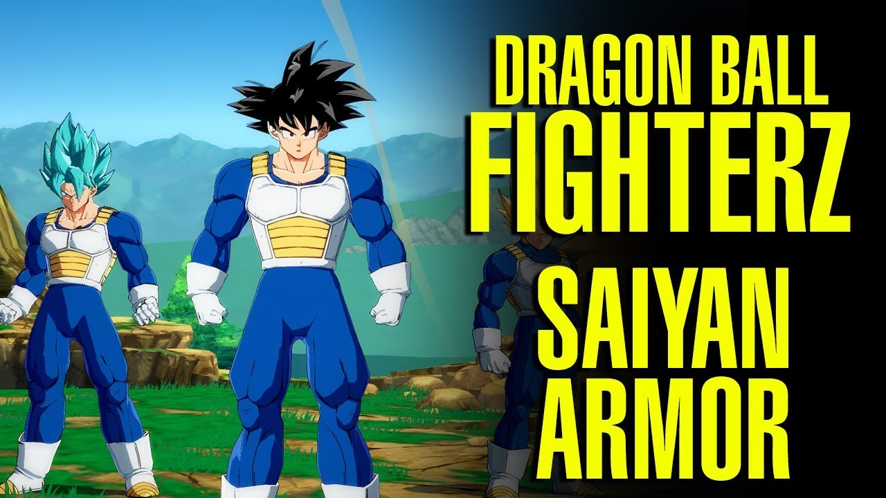 Dragon Ball Fighterz Son Goku Ssj Saiyan Armor Battle Suit Mod Youtube Without armor, any standard issue laser could blast right through them. dragon ball fighterz son goku ssj saiyan armor battle suit mod