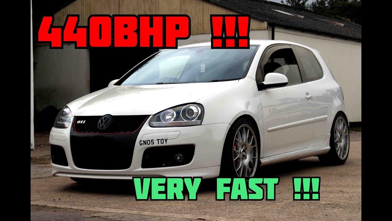 440BHP MK5 GOLF GTI KO4 TURBO POV TESTDRIVE   MK7 GTI EXHAUST !!   GoPro