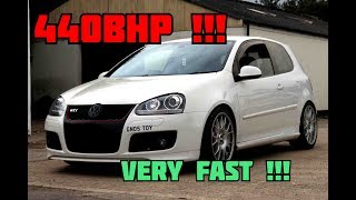 440BHP MK5 GOLF GTI KO4 TURBO POV TESTDRIVE | MK7 GTI EXHAUST !! | GoPro