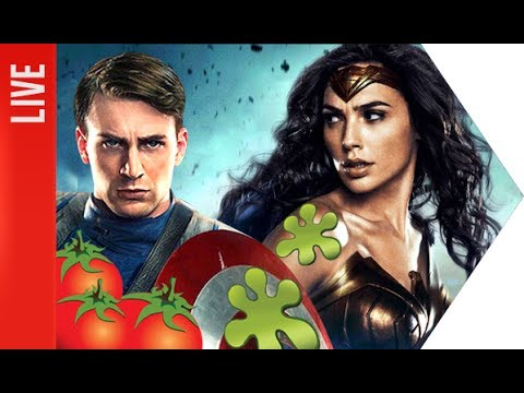 Marvel vs DC e a farsa do Rotten Tomatoes | OmeleTV AO VIVO