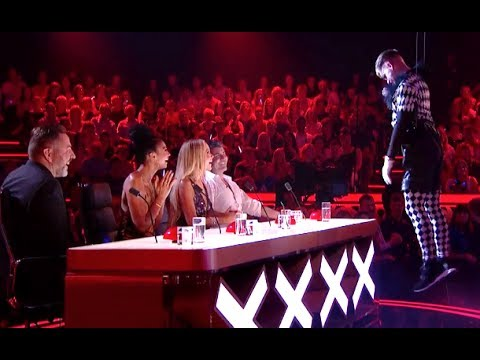 Thumbnail: Creepy TNG Scare The Light Out Of The Judges | Semi Final 5 | Britain's Got Talent 2017