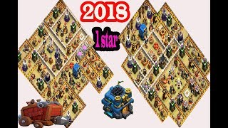 th 12 war base 2018 ❤️clash of clans ❤️with replay
