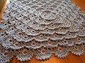Manta Cobija tejida del centro a la orilla Crochet parte 1 de 2