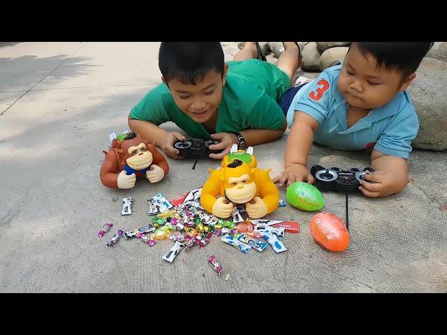 Sân Chơi Ngoài Trời Vui Nhộn – Trò Chơi Thử Thách Khéo Tay ❤ ChiChi ToysReview TV ❤ Fun Song Đồ Chơi
