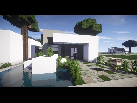 Full download minecraft como hacer una casa moderna 2 for Como construir una casa moderna