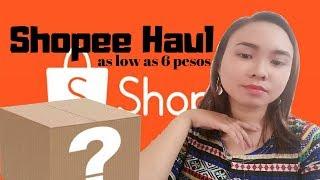 Shopee 11.11 Sale Haul Part 1