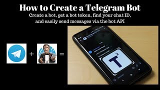 How to Create a Telegram Bot and Send Message via bot API