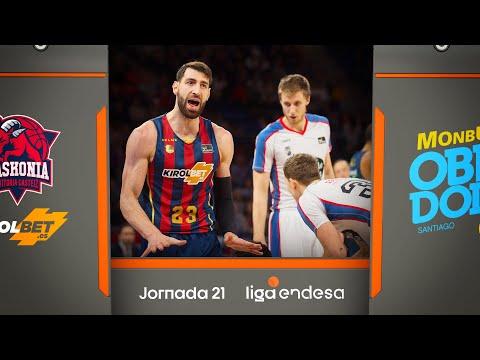 KIROLBET Baskonia - Monbus Obradoiro (83-69) RESUMEN I Liga Endesa 2019-20