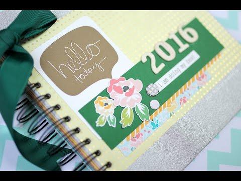 Hướng dẫn làm sổ tay handmade cho năm mới