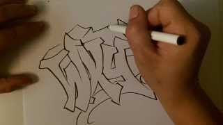how2art how to draw a basic wildstyle graffiti aka mildstyle alphabet