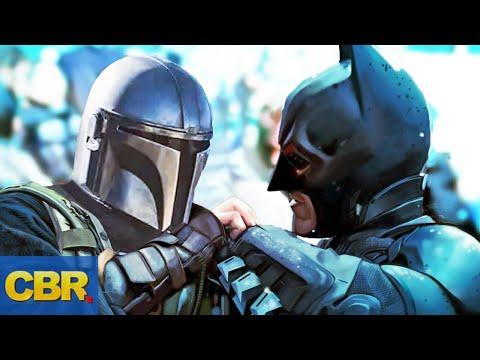 Mandalorian Vs Batman Battle