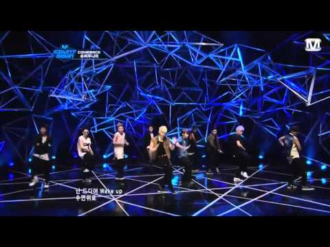 [LIVE/720p]120705 Super Junior - From U + Sexy, Free  Single