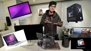 [教學影片] 剪輯用的電腦如何選擇?