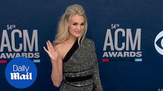 Glittering and Gorgeous! Carrie Underwood at 2019 ACM Awards