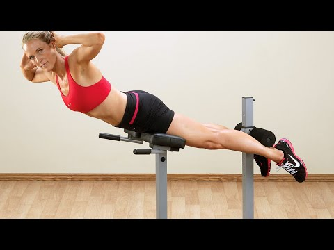 Pch24x Powerline Roman Chair Back Hyperextension Youtube