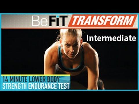 Укрепляем нижнюю часть тела - Средний уровень