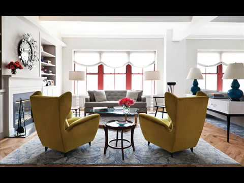 Wing Chairs At Dining Table Youtube