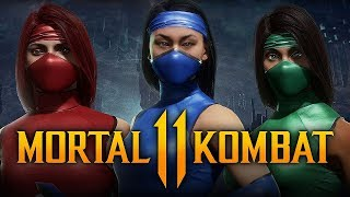 Mortal Kombat 11 - How To Unlock Klassic Skins for Jade, Kitana & Skarlet! (Timed Event)