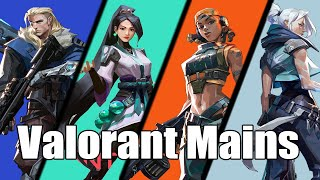The Different Types oḟ Valorant Mains