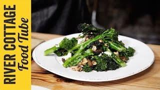 Broccoli & Goat's Cheese Winter Walnut Salad