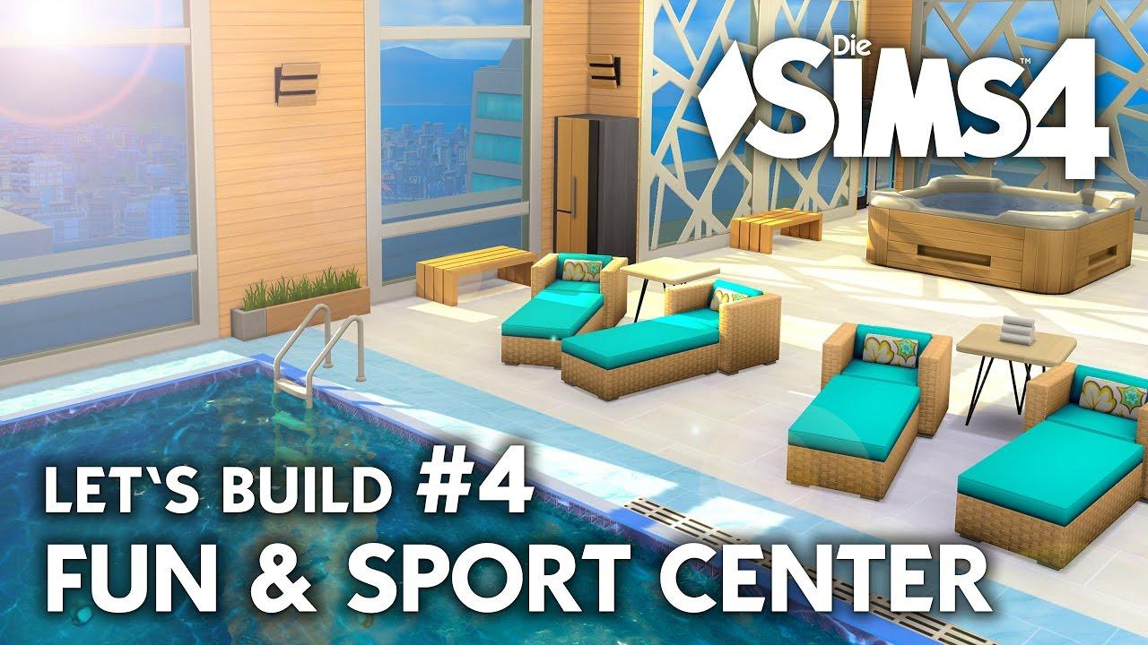 Die Sims 4 Sporthalle Bauen 4 Fun Sport Center Let S Build