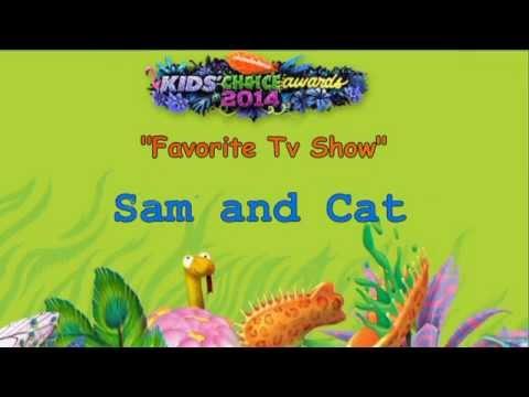 Nickelodeon Kids Choice Awards 2014 - Winners ✔