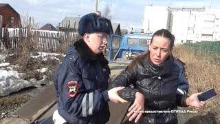 В Ревде полиция задержала пьяную автоледи