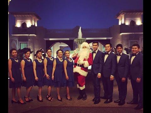 Shangri-La and Traders Hotel Abu Dhabi 2016 Christmas Chorale Presentation