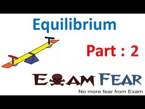 Chemistry Equilibrium part 2 (Physical Equilibrium) CBSE class 11 XI
