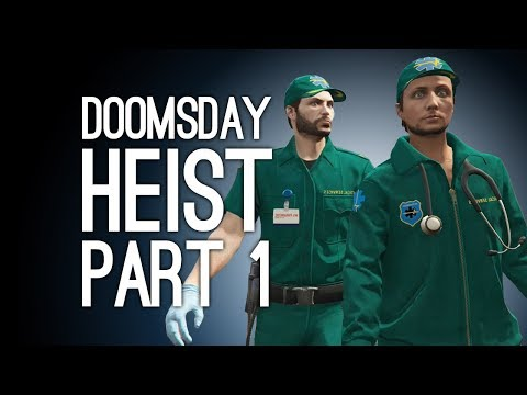 GTA Online Doomsday Heist Pt 1: HEIST CREW ASSEMBLE for ONE