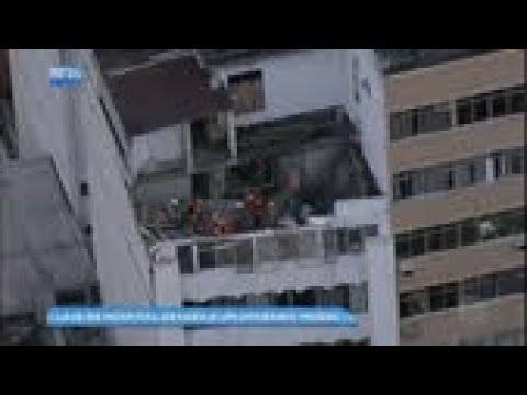 Laje de hospital desaba e operário morre no Rio de Janeiro