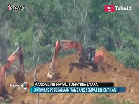 Ribuan Warga Mandailing Natal Tolak Perusahaan Tambang Perusak Alam - INews Pagi 19/01