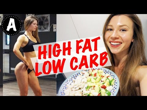 WHAT I EAT IN A DAY   HIGH FAT LOW CARB DIET   2000 calories