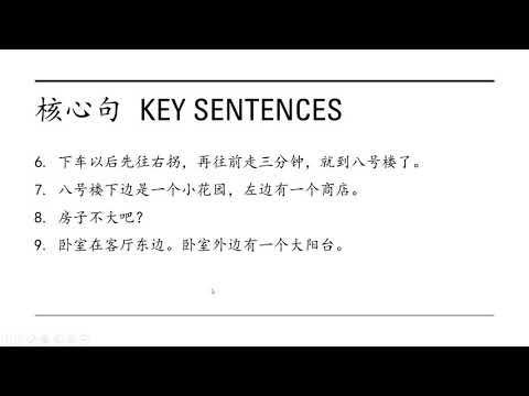 Lesson 21 Key sentences, phrases 1/2