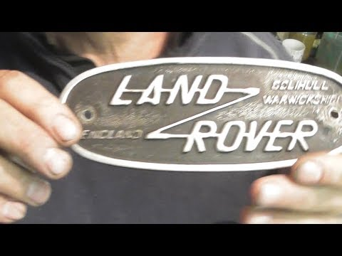 Anyone done a land rover badge ( casting tomorrow ) part 1.....