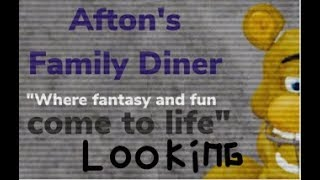 Roblox I Afton's Family Diner [Early Access] I Looking & SECRET CHARACTER 1 [READ DESC]