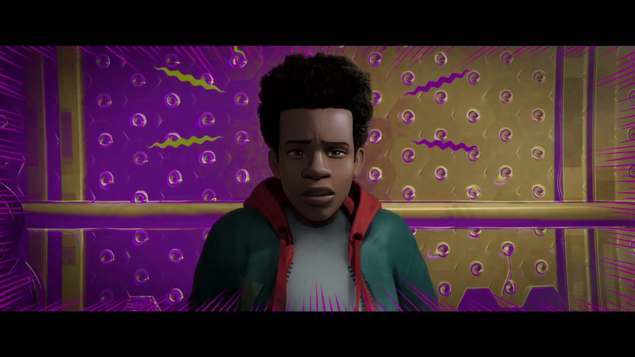 spiderman  new generation 2018  bandeannonce