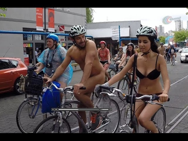 World Naked Bike Ride 2014 Vancouver